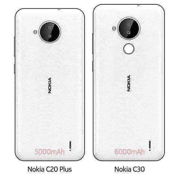 Nokia C20 Plus Nokia C30