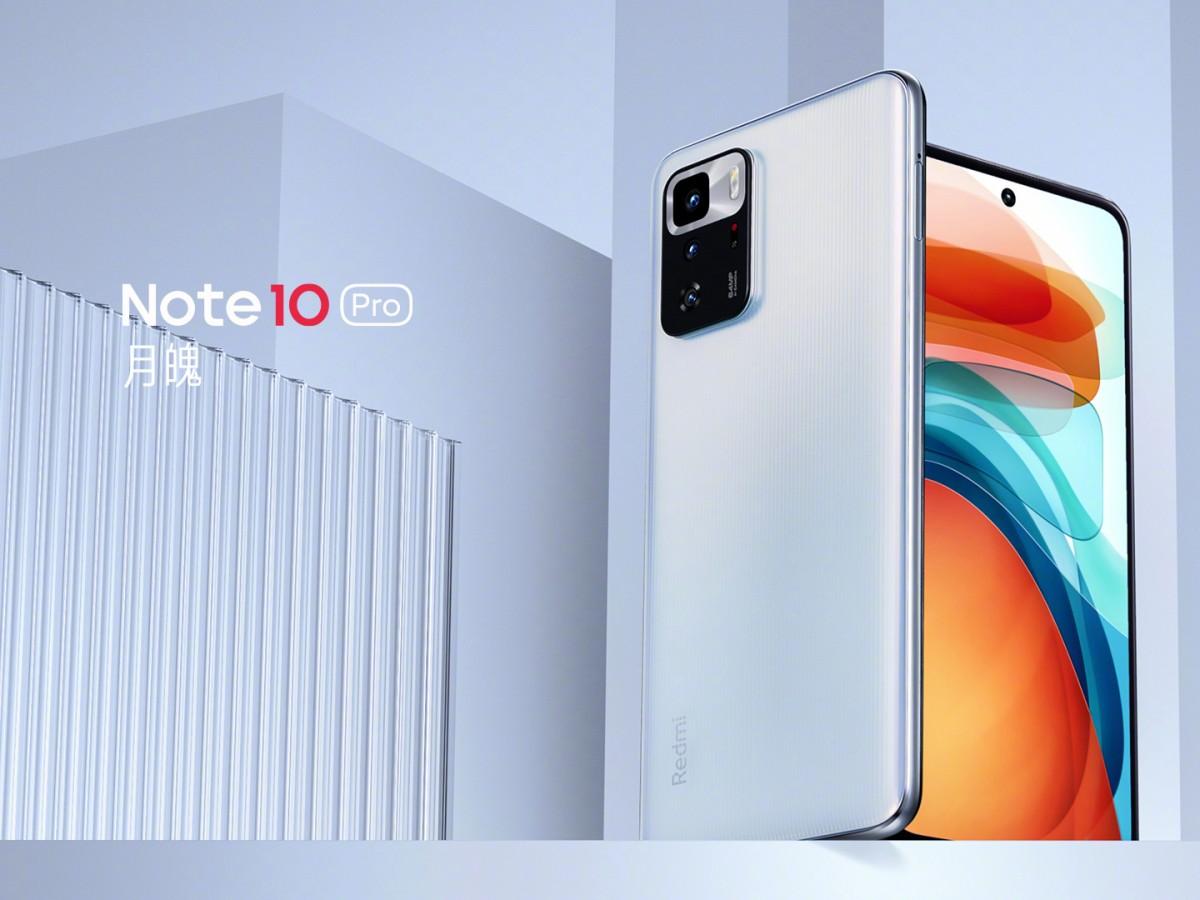 Redmi Note 10 Pro 5G white