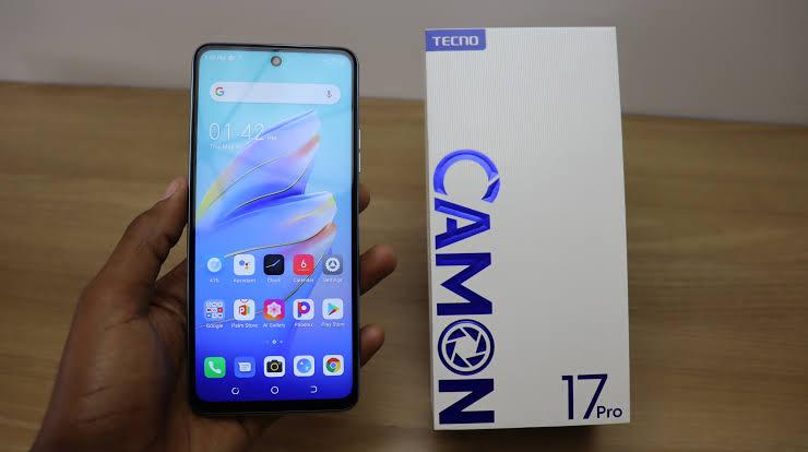 Tecno Camon 17 Pro unboxing